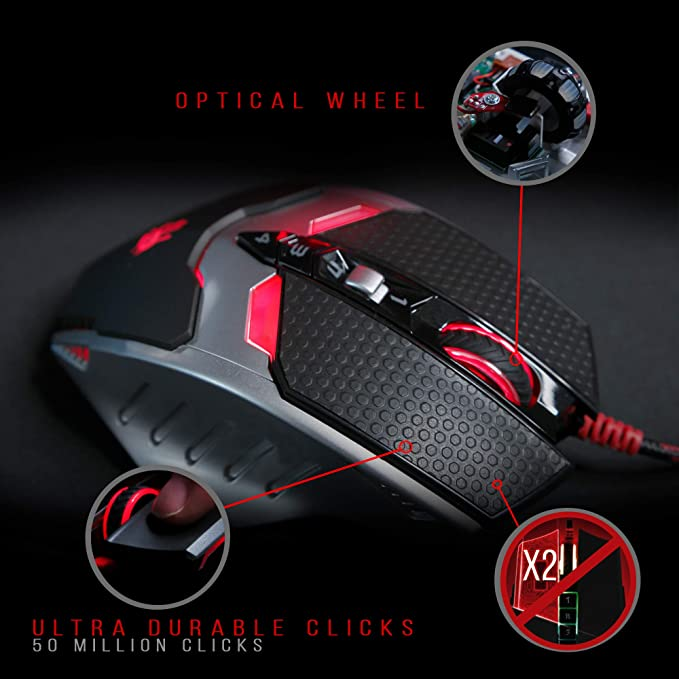 Bloody TL80 Termin8r Ultra-Core Laser Gaming Mouse