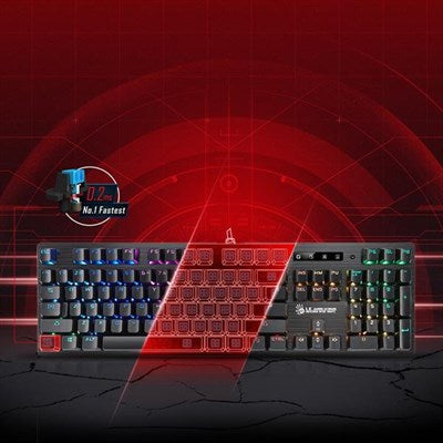 Bloody B820R Light Strike Mechanical Gaming Keyboard (Blue Switch)