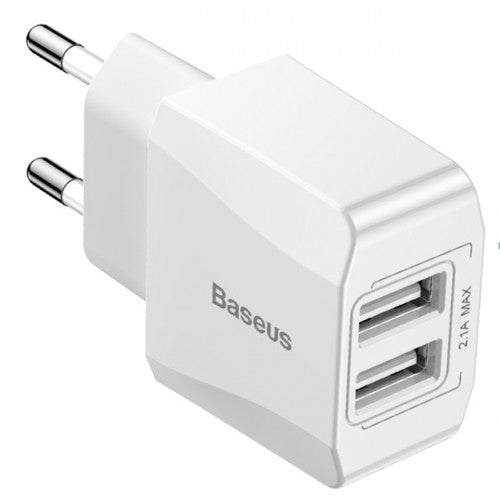 Baseus Charger Mini Dual USB Charger 2.1a CCAL MN02