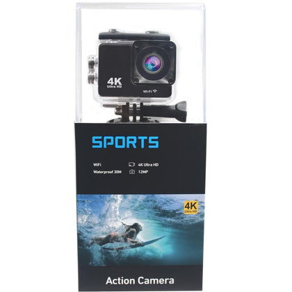 Action Sports Camera Wifi 4k 1080p HD (Blue Packing)