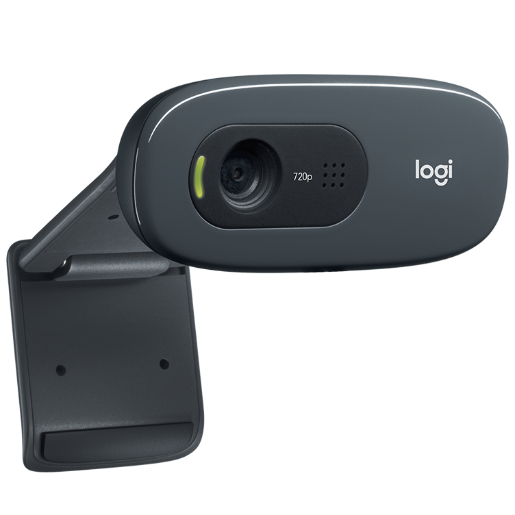 Logitech C270 HD Webcam 720p