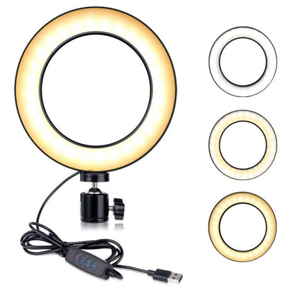 LED Studio Ring Light for Photography - 20cm