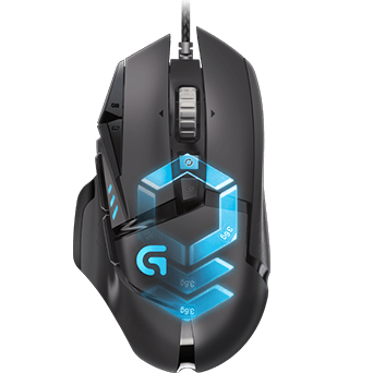 Logitech G502 Gaming Mouse HERO High Performance