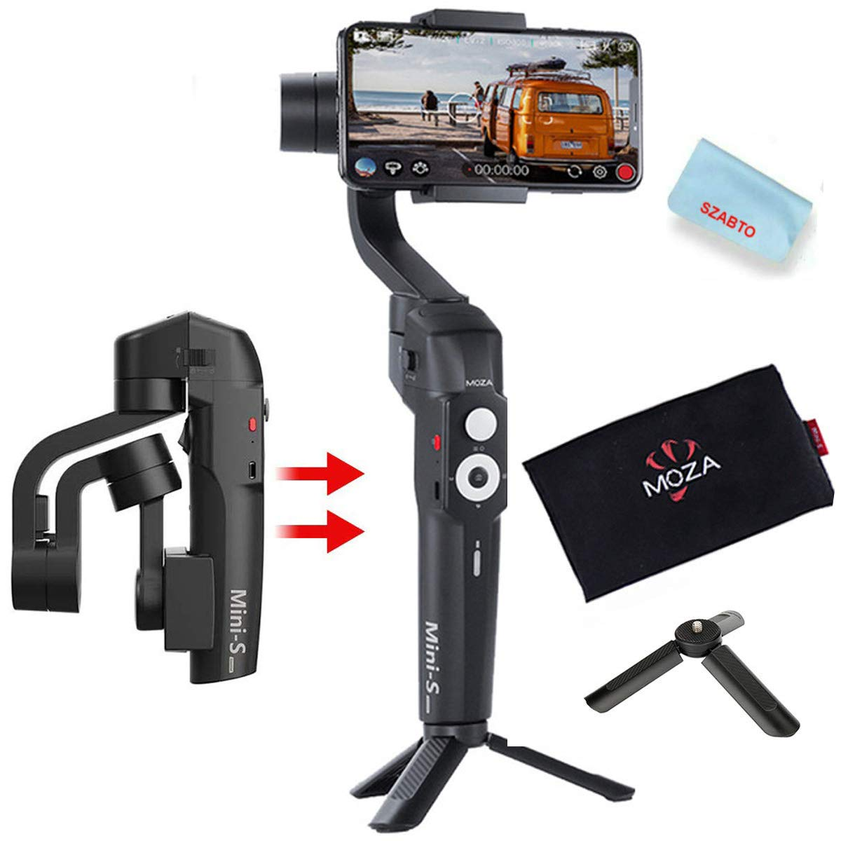 Gimbal Moza Mini S For Smartphone