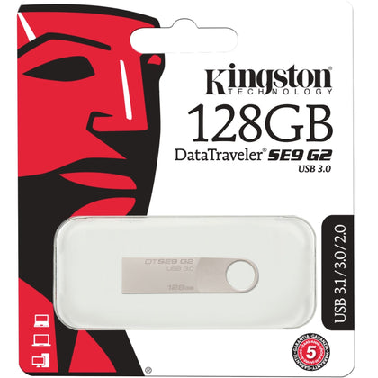 Kingston DataTraveler SE9 G2 USB Flash Drive 128GB