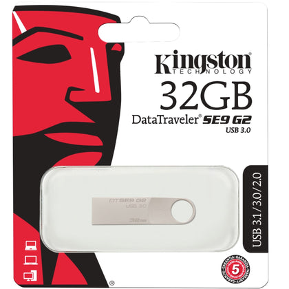 Kingston DataTraveler SE9 G2 USB Flash Drive 32GB