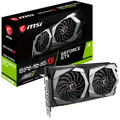 MSI GeForce GTX 1650 Super Gaming X Graphic Card