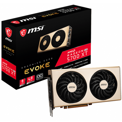 MSI Redeon RX 5700 XT EVOKE OC Graphic Card