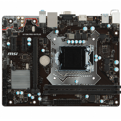 MSI Intel H110M PRO-VH Plus Motherboard