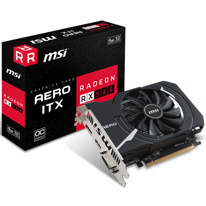 MSI Radeon RX 560 AERO ITX 4G OC Graphic Card