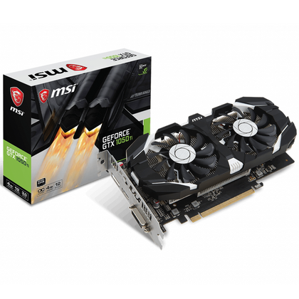 MSI GeForce GTX 1050 Ti 4GT OCV1 Graphic Card
