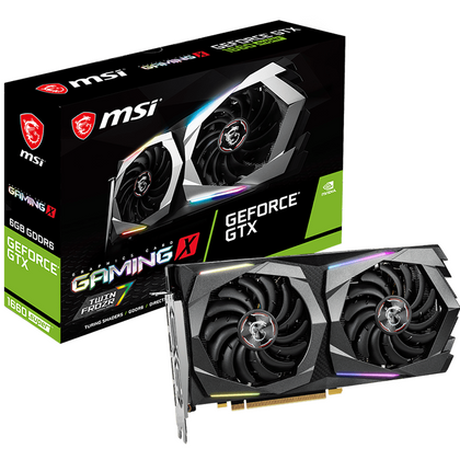 MSI GeForce GTX 1660 Super Gaming X Graphic Card