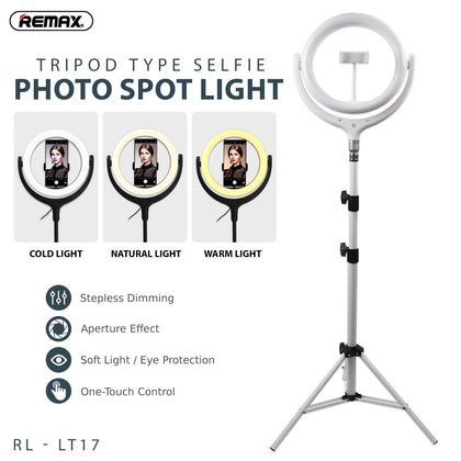 Remax 26cm with Stand Selfie Spot Light RL-LT17