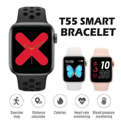 T55 Smart Watch Series 5 Master Clone with Extra Strap