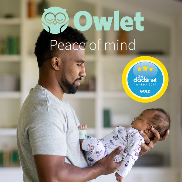 Owlet Smart Sock wins Gold at the Dadsnet Awards!