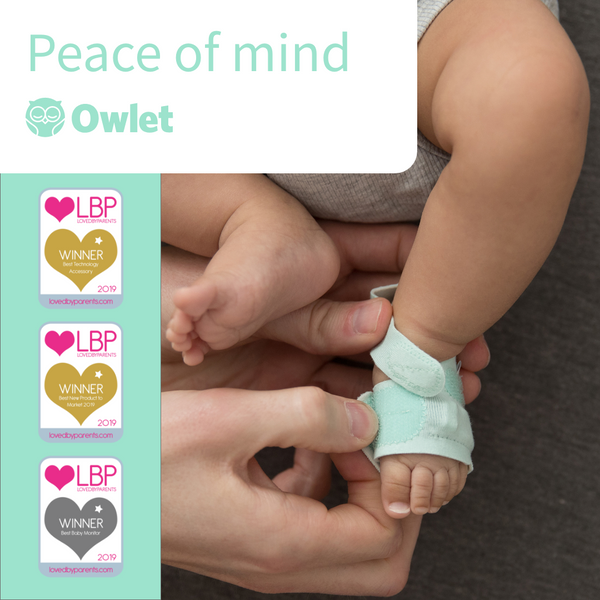 Owlet Smart Sock wins big at the Loved by Parents Awards!