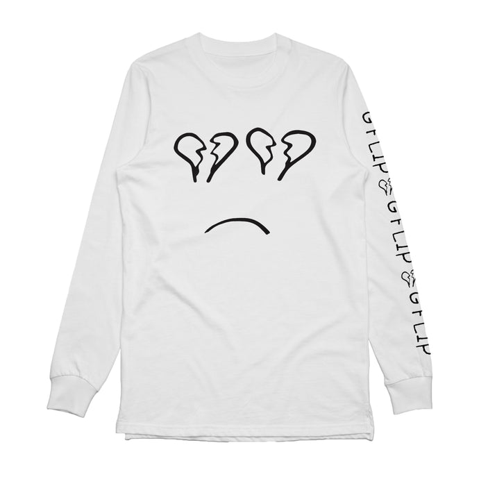Logo Long Sleeve (White)