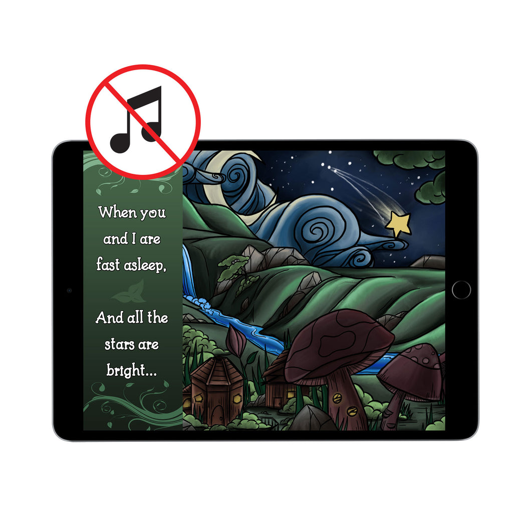 When You and I Are Fast Asleep: Digital Book (without music)