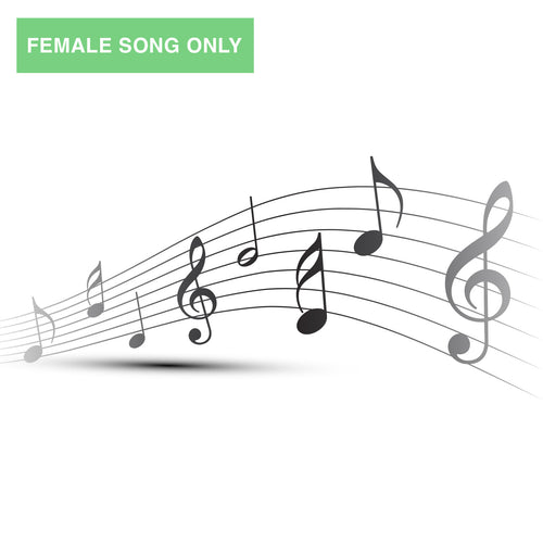 When You and I Are Fast Asleep: Downloadable Song - Female Voice