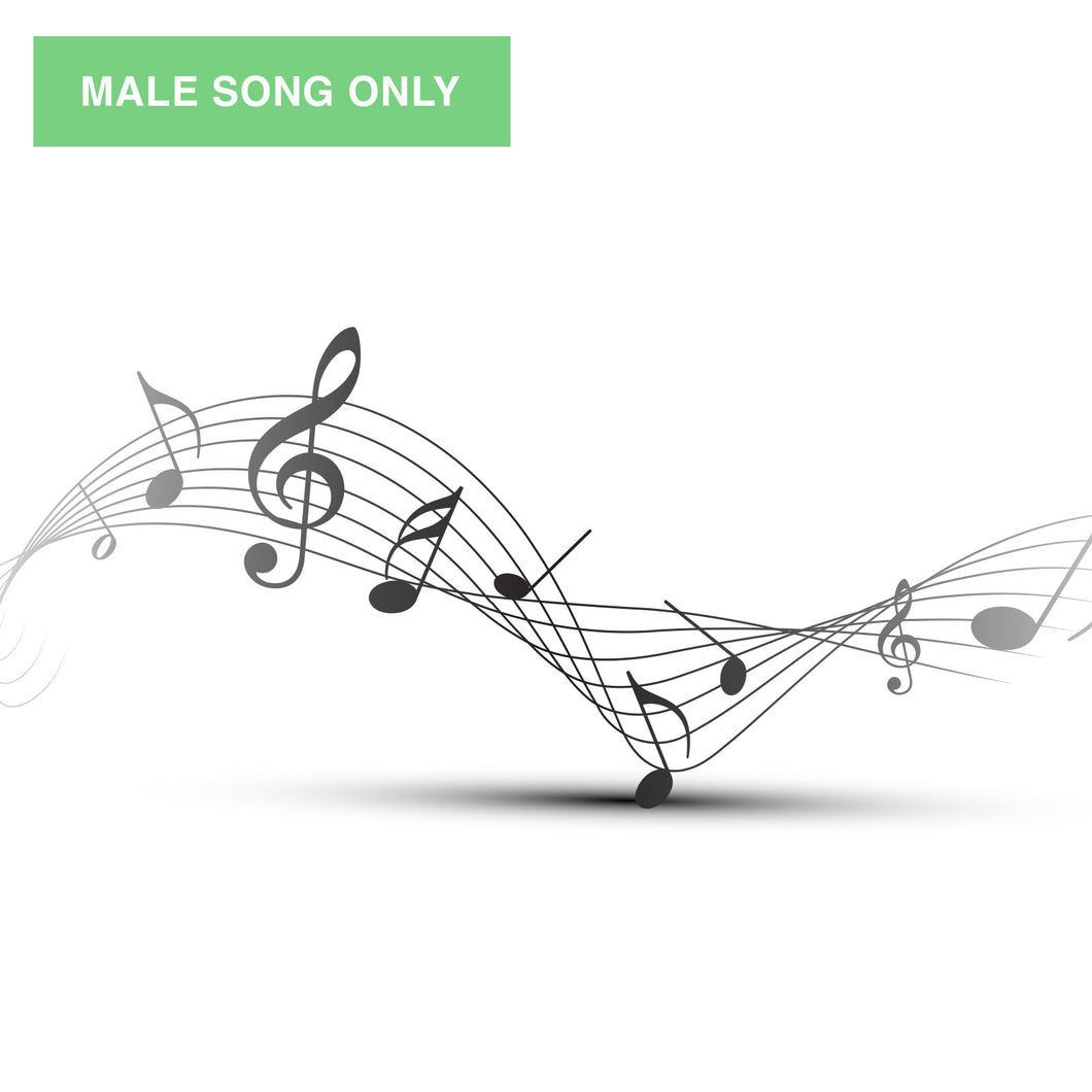 When You and I Are Fast Asleep: Downloadable Song - Male Voice