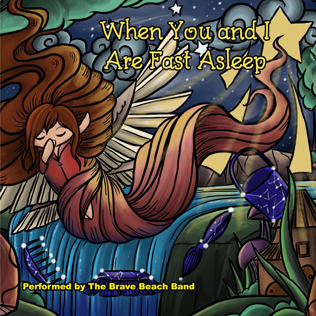 When You and I Are Fast Asleep: eBook with Song - Male Voice