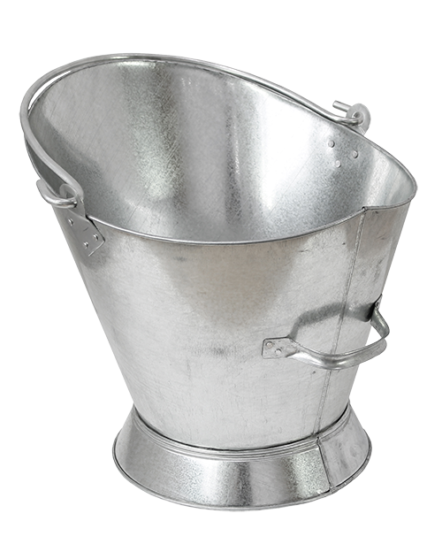 Galvanised Waterloo Coal Bucket