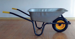 90Ltr. Galvd. Builders Wheelbarrow