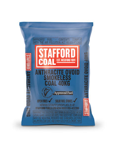 Stafford Fuels Anthracite - 40Kg