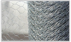 50m Hexagonal Wire Mesh Roll (50mm holes)