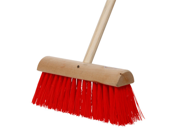 Nylon Yardbrush & Timber Handle