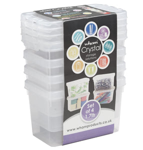 Wham Crystal 1.7L Box (Set of 4)