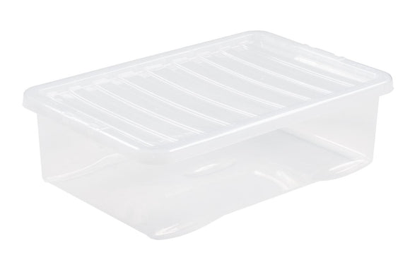 Wham Crystal 32L Underbed Box