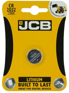 JCB CR2032 Battery