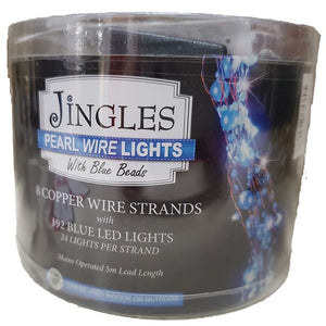Jingle Pearl Wire Lights