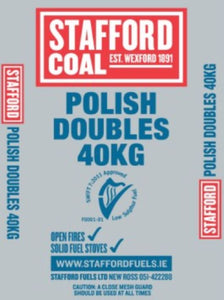 Stafford Polish Doubles Coal - 40Kg
