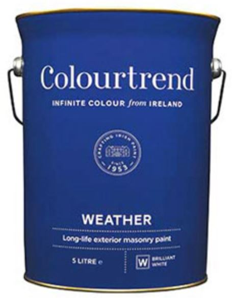 Colourtrend Weather Collection - 5L