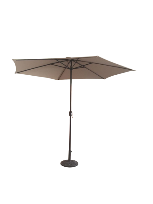 3mtr Parasol with Crank - Taupe