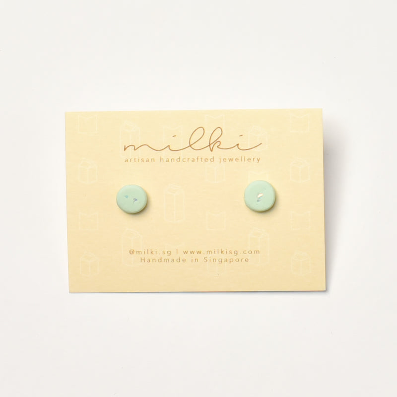 milki.sg Lime Sorbet Candy Stud (Mini)