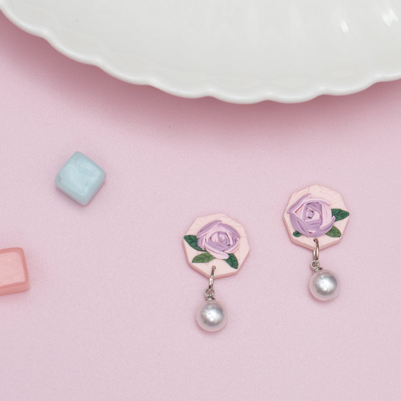 milki.sg Morning Dew Blooms Studs (Oct)