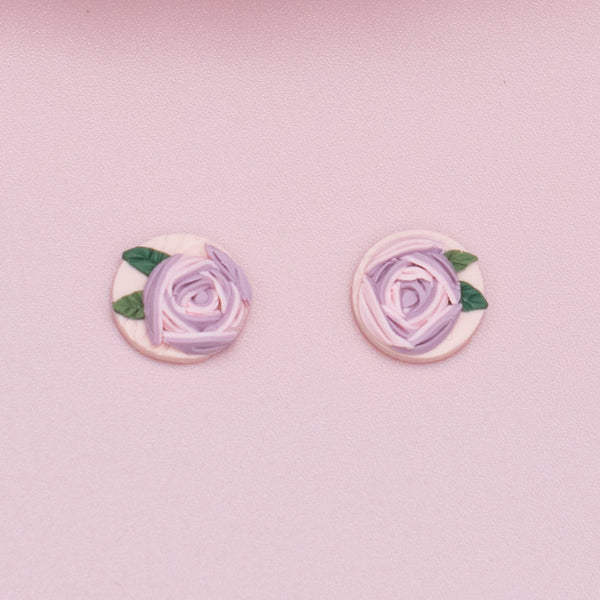 milki.sg Morning Dew Blooms Studs (Mini)