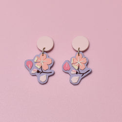milki.sg Royal Sakura Baby Pink Branches Dangles (Mini)