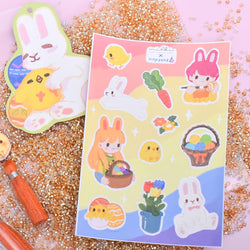 milki.sg Easter Party Stickers and Postcard Set