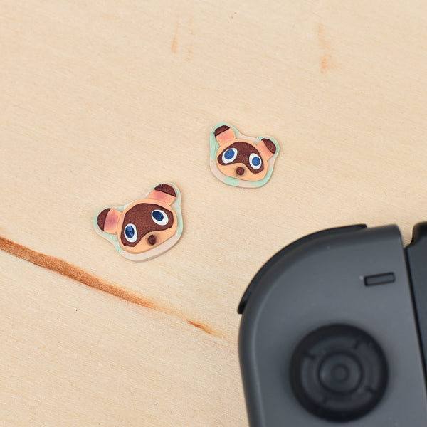 The New Horizons Studs 2 (Tom nook & nookling)