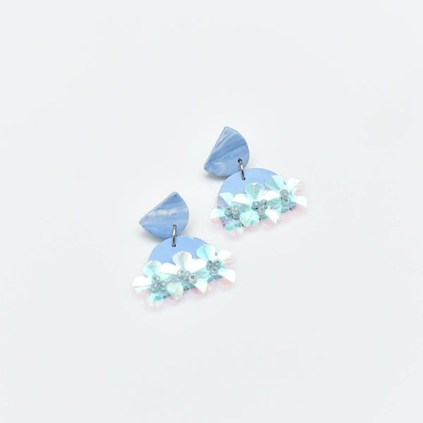 Sugar Gems Dangles (Aquamarine)