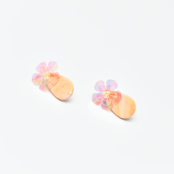 Sugar Gems Studs (Citrine)