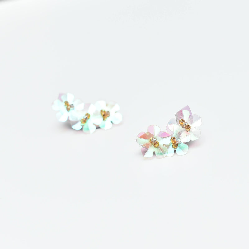 Sugar Gems Studs (Moonstone)