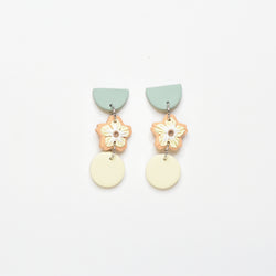 milki.sg Madeleine Orange Dangles (Tri 1)