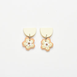 milki.sg Madeleine Yellow & Orange Dangles (Drop)