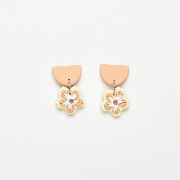 milki.sg Madeleine Orange & Yellow Dangles (Drop)