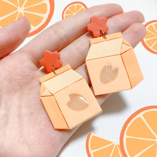 Milki Dangles (Orange)